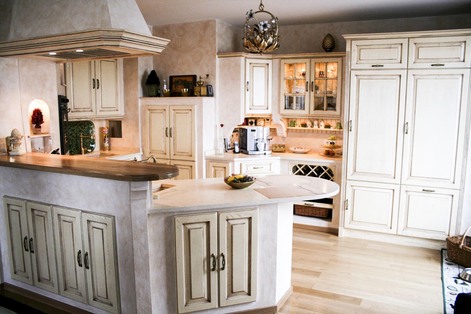 landhausk che nizza die landhausk che mediterrane k chen. Black Bedroom Furniture Sets. Home Design Ideas