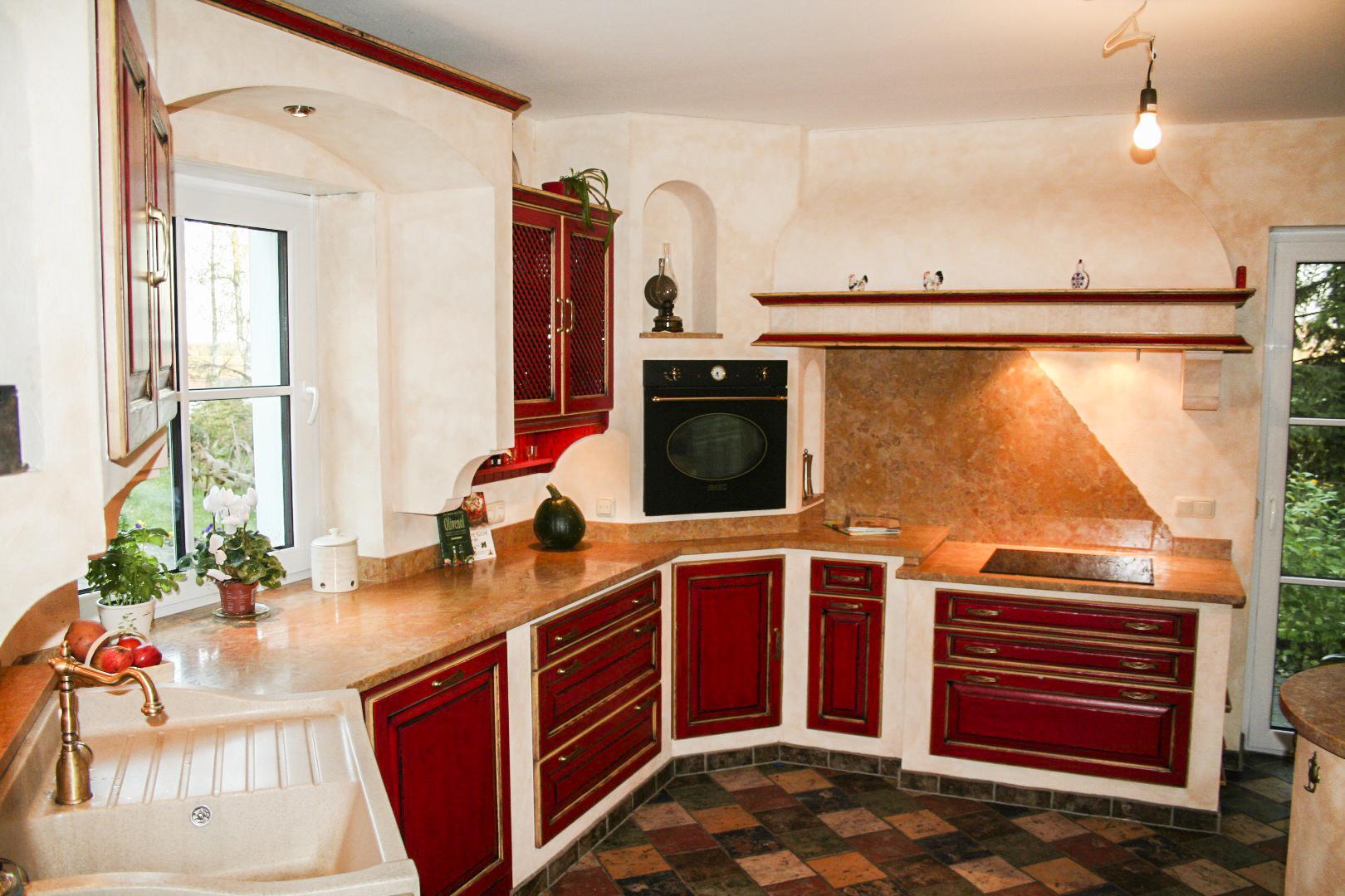 Gemauerte Küchen. Unterschrank Frontauszug Küche Keramik ...