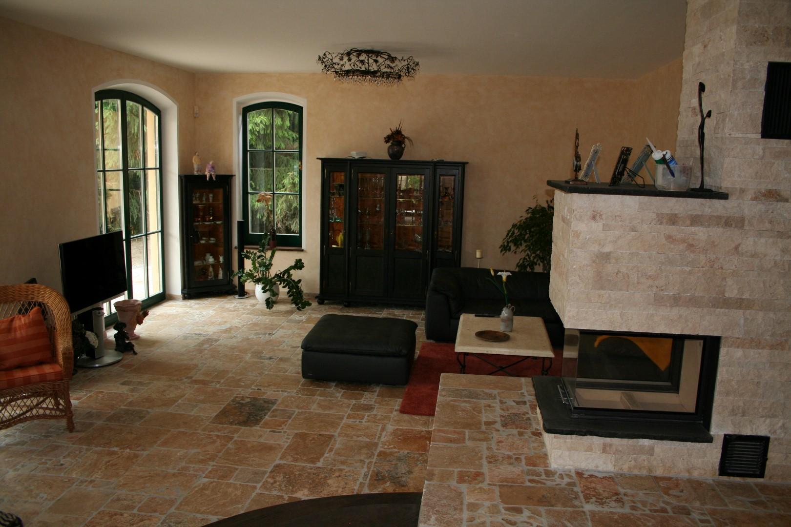 mediterranes wohnen die landhausk che mediterrane k chen. Black Bedroom Furniture Sets. Home Design Ideas